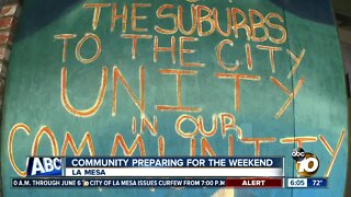 La Mesa shows signs of hope, while preparing for weekend