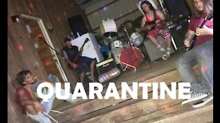 STRANGLE HOLD Ted Nugent cover by QUARANTINE