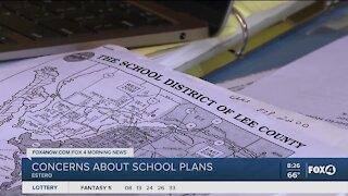Estero residents speak out against location of school