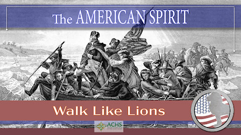 """""""The American Spirit"""" Walk Like Lions Christian Daily Devotion with Chappy May 13, 2021"""