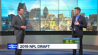 Dave and Kyle give their thoughts on the possible Detroit Lions pick