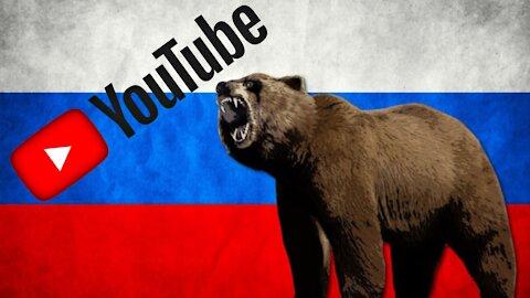 YouTube maže ruský státní kanál - Ruská federace reaguje s ultimátem!