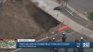 Two killed in construction accident in Glendale