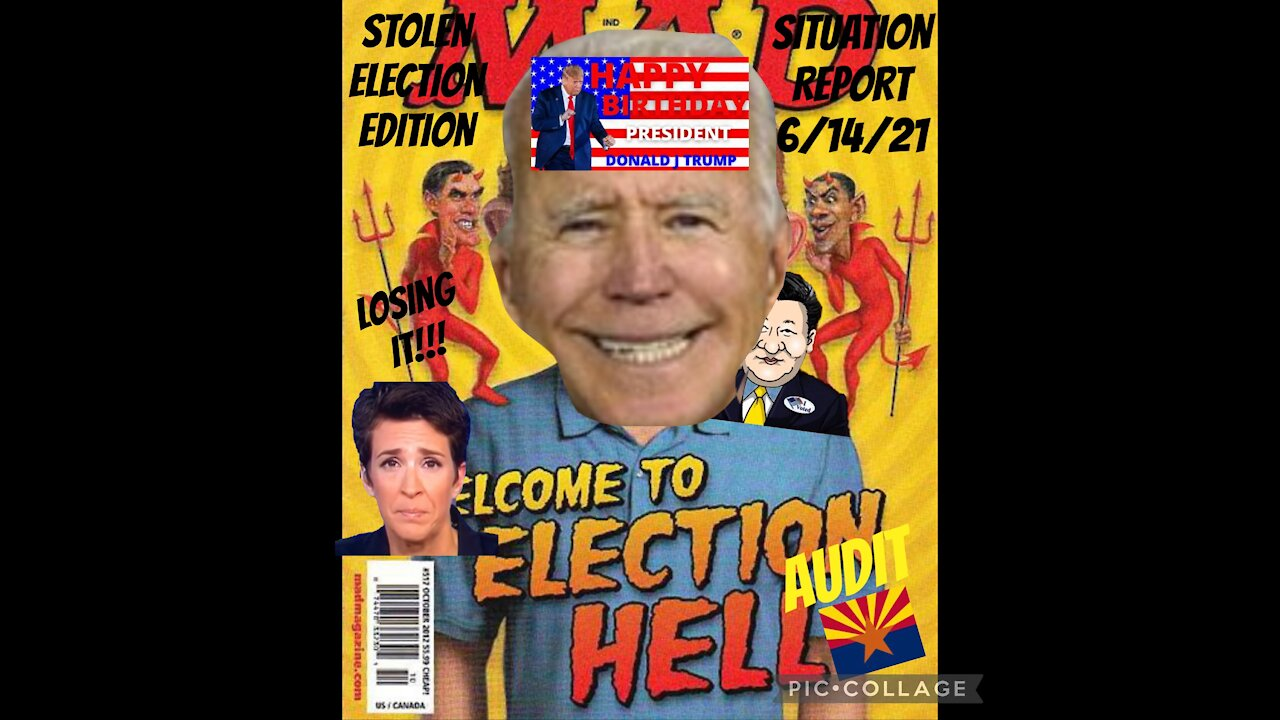 Situation Update - Stolen Election Edition: Welcome To The Election From Hell! - Must Video