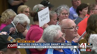 Independence residents address council after smart meter vote
