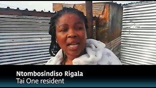 South Africa - Cape Town - Tai Fire (Video) (iav)