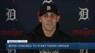 Matt Boyd honored to start Tigers opener
