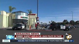 Suspected robber arrested after shot fired inside 7-Eleven