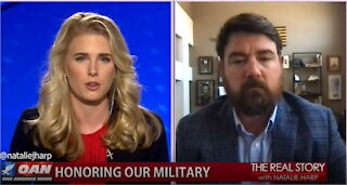 The Real Story - OAN Fighting Back Against PTSD with Jonathan Hancock