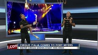 Italian Water Circus touring through Florida