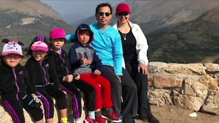 Father dies on Thanksgiving Day, community rallies around children and mother
