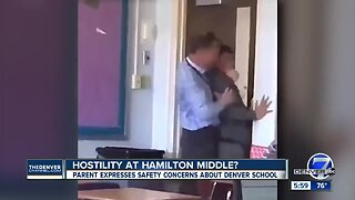 Video shows substitute teacher in Denver forcibly trying to remove student from a classroom