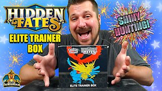 Hidden Fates Elite Trainer Box #3 | Shiny Hunting | Pokemon Cards Opening