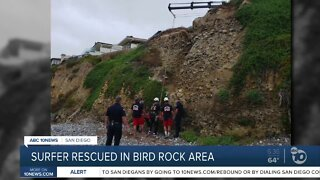 Fire crews rescue man after medical emergency in Bird Rock area