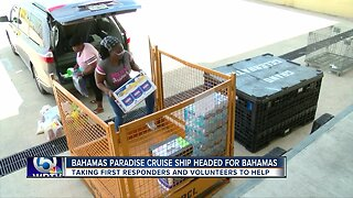 Cruise line leaving on humanitarian mission to Bahamas