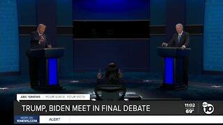 Trump, Biden meet in final debate