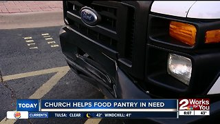 Church helps food pantry in need