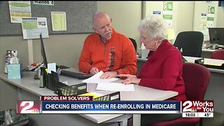Checking benefits when re-enrolling in medicare