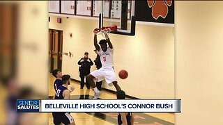 WXYZ Senior Salutes: Belleville High School's Connor Bush