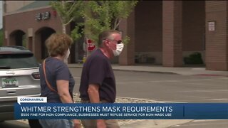 Whitmer signs order requiring people to wear masks in all indoor spaces, crowded outdoor spaces