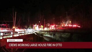 Three people hurt in house fire in Otto