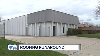 Small business owner getting the roofing runaround