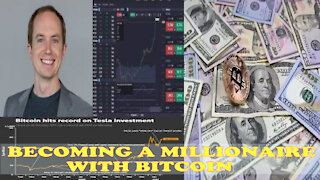 Becoming a millionaire with Bitcoin
