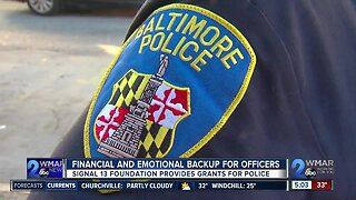 Financial and emotional backup for officers