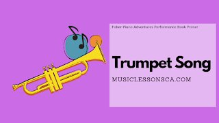 Piano Adventures Performance Book Primer - Trumpet Song