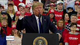 PolitiFact Wisconsin: President Trump's memorable lines at Milwaukee rally fact-checked