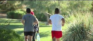 Las Vegas man running to veterans