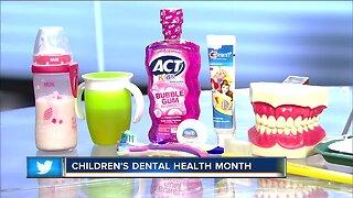 Tips for children during Children's Dental Health Month