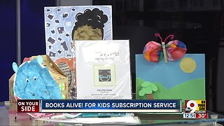 Learning Through Art Launches Books Alive! For Kids Subscription