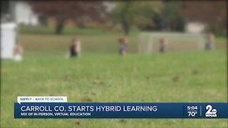 Carroll County starts hybrid learning