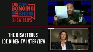 Here's The Disastrous Joe Biden TV Interview - Dan Bongino Show Clips