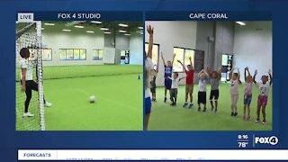 After school program keeps kids active all day