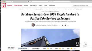 Report claims many fake Amazon reviews