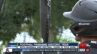 Foothill baseball finishing out historic year for the Trojans