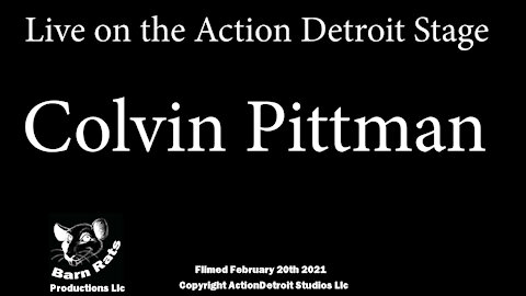 Colvin Pittman at Action Detroit Stand Comedy Night