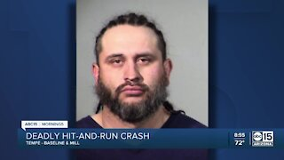 Man arrested for alleged hit and run in Tempe