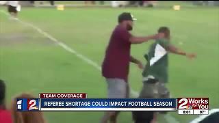 Referee shortage could impact football season