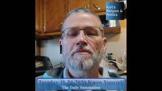 20201124 Know Yourself - The Daily Summation
