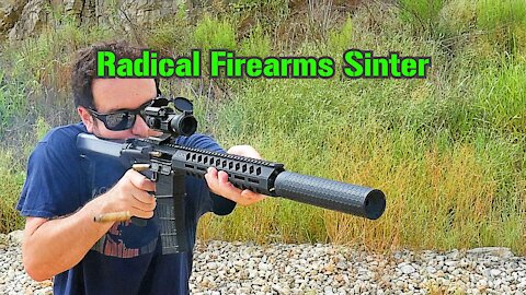 Radical Firearms Sinter 3D Printed Suppressor : TTAG Range Review