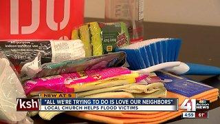 Weston church helps flood victims