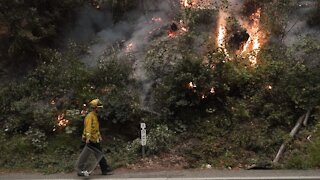 Improved Weather Helps Fire Crews Gain Control Over California Blazes