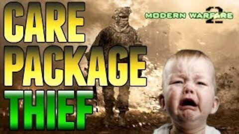 """Thats My Care Package! """"Angry Squeaker on MW2 Trolled"""""""