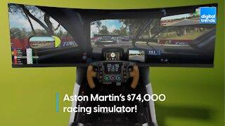 Aston Martin's $74,000 Racing Simulator!