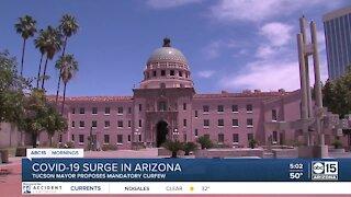 Tucson mayor proposes mandatory curfew