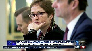 Senate impeachment trial continues