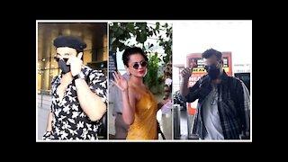 Ranveer Singh, Kangana Ranaut & Sanjay Kapoor Snapped At The Airport